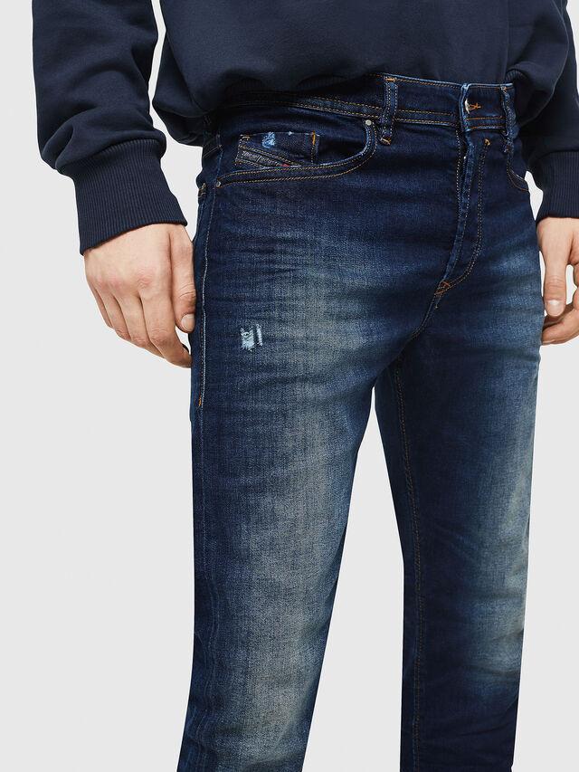 Diesel - Buster 069BM, Dark Blue - Jeans - Image 3