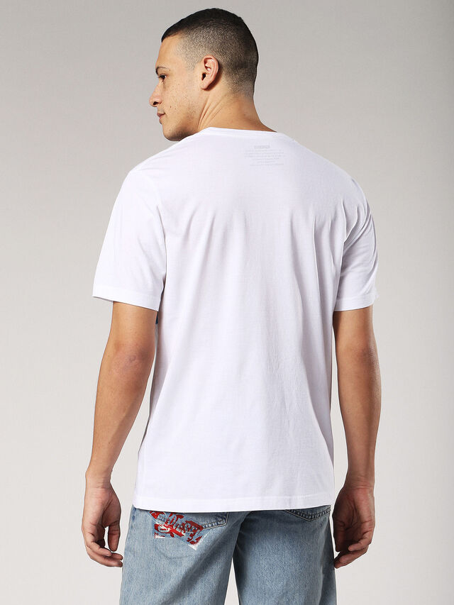 Diesel - T-JUST-SW, White - T-Shirts - Image 2