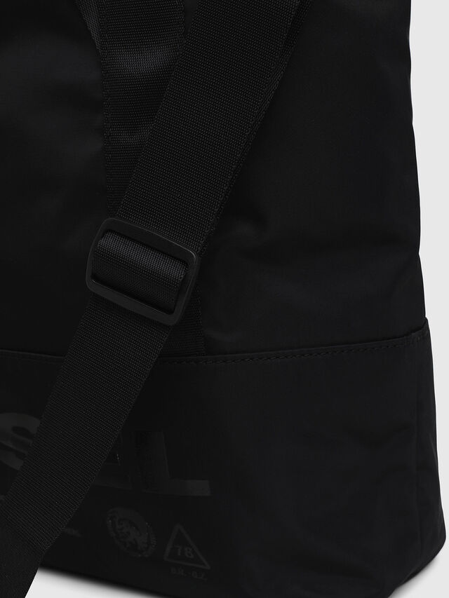 Diesel - F-SUSE T BACK W, Black/Blue - Backpacks - Image 3
