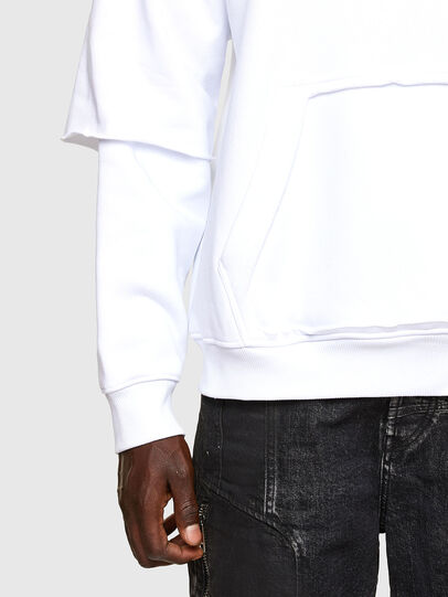 Diesel - S-UBBER-A1, White - Sweaters - Image 5