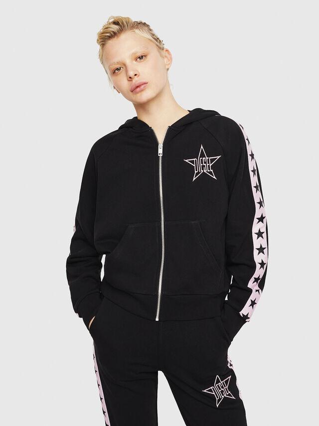 Diesel - UFLT-NERISSA-U, Black/Pink - Sweaters - Image 1
