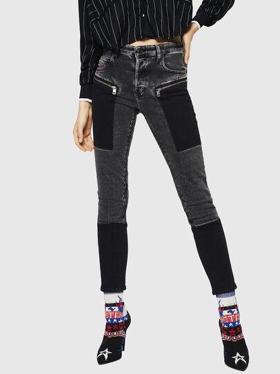 Diesel - Babhila 0890T, Black/Dark grey - Jeans - Image 1