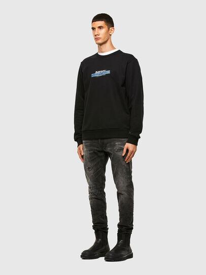 Diesel - S-GIRK-N83, Black - Sweaters - Image 4