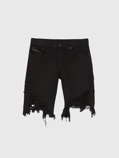 Diesel - D-KRASY, Black - Shorts - Image 1