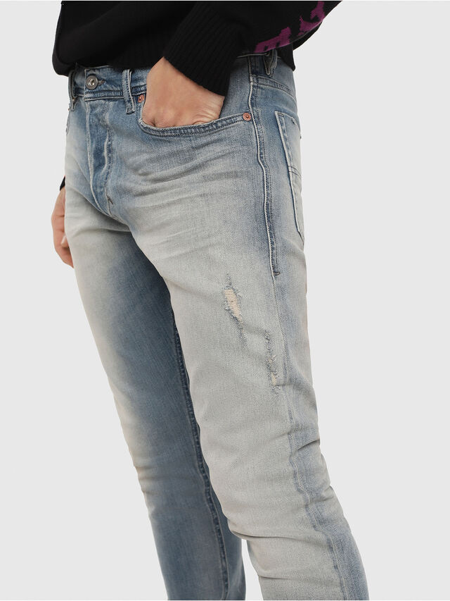 Diesel - Tepphar 081AP, Light Blue - Jeans - Image 4
