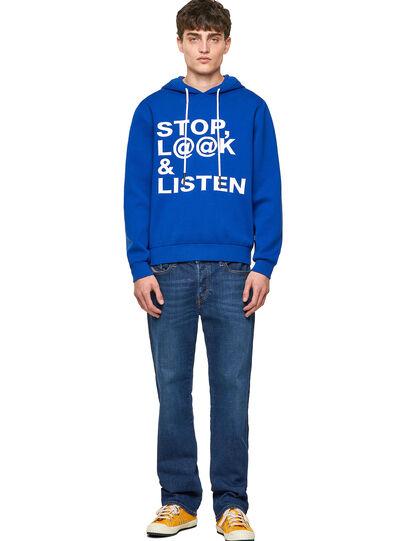 Diesel - K-ORIENTAL, Dark Blue - Knitwear - Image 4
