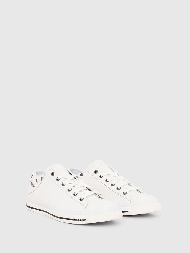 Diesel - EXPOSURE LOW I, White - Sneakers - Image 2