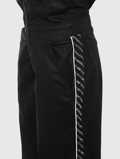 Diesel - D-JAYLEN JOGGJEANS, Black/Dark grey - Jumpsuits - Image 4
