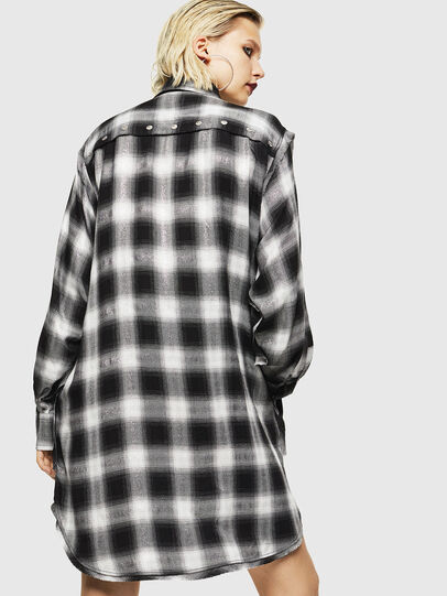 Diesel - D-SUNNY-A, Black/White - Dresses - Image 2