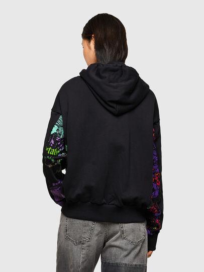 Diesel - F-ALBYHOOKA-SID, Black - Sweaters - Image 2