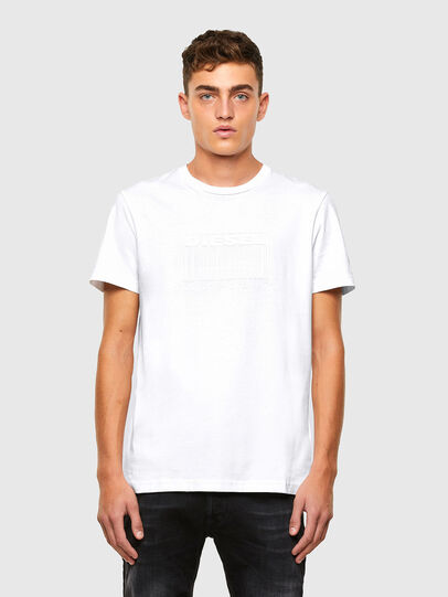 Diesel - T-DIEGOS-N35, White - T-Shirts - Image 1