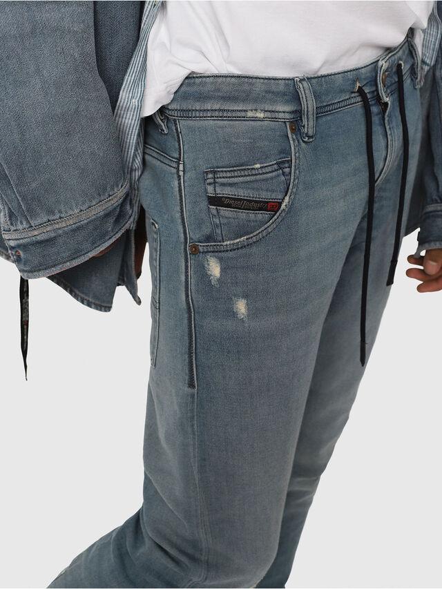 Diesel - Krooley JoggJeans 086AY, Light Blue - Jeans - Image 4
