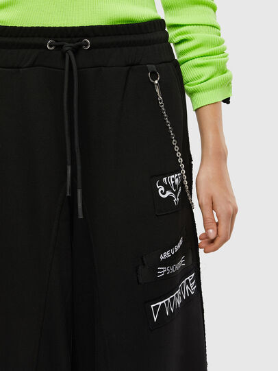 Diesel - P-STRASSY, Black - Pants - Image 4