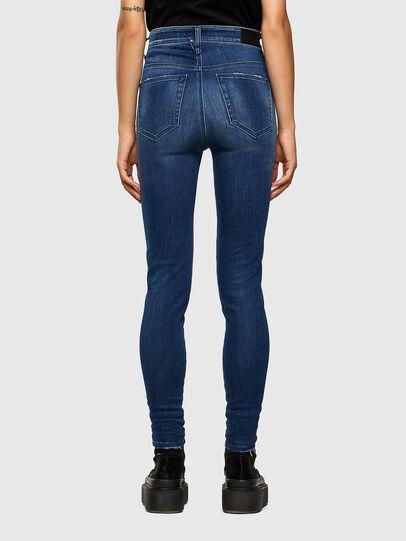 Diesel - Slandy High 009FE, Dark Blue - Jeans - Image 2