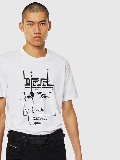 Diesel - T-JUST-J14, White - T-Shirts - Image 4