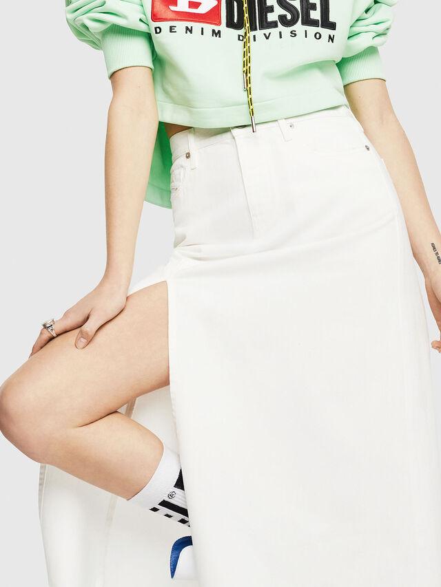 Diesel - DE-VYVIEN, White - Skirts - Image 3