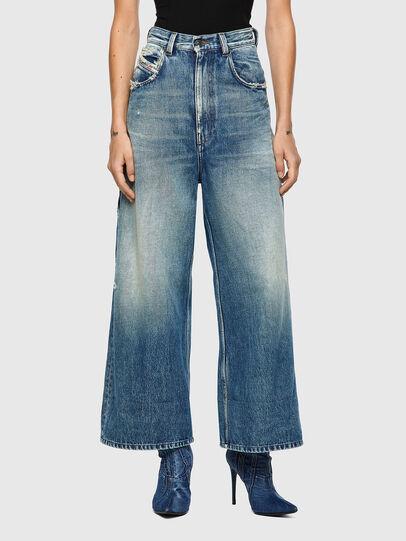 Diesel - D-Luite 09A58, Medium blue - Jeans - Image 1