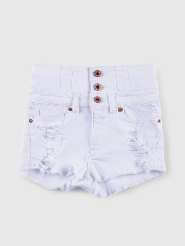 Diesel - PSKORSET, White Jeans - Shorts - Image 1