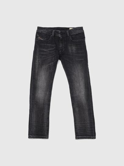 Diesel - SLEENKER-J JOGGJEANS-N, Black/Dark grey - Jeans - Image 1