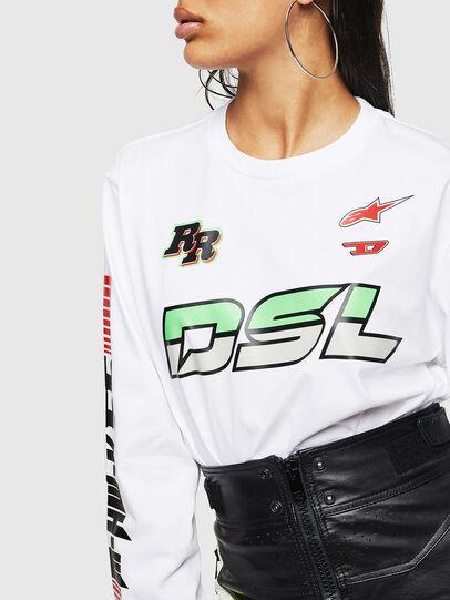 Diesel - ASTARS-T-JUST-LONG-F,  - T-Shirts - Image 6