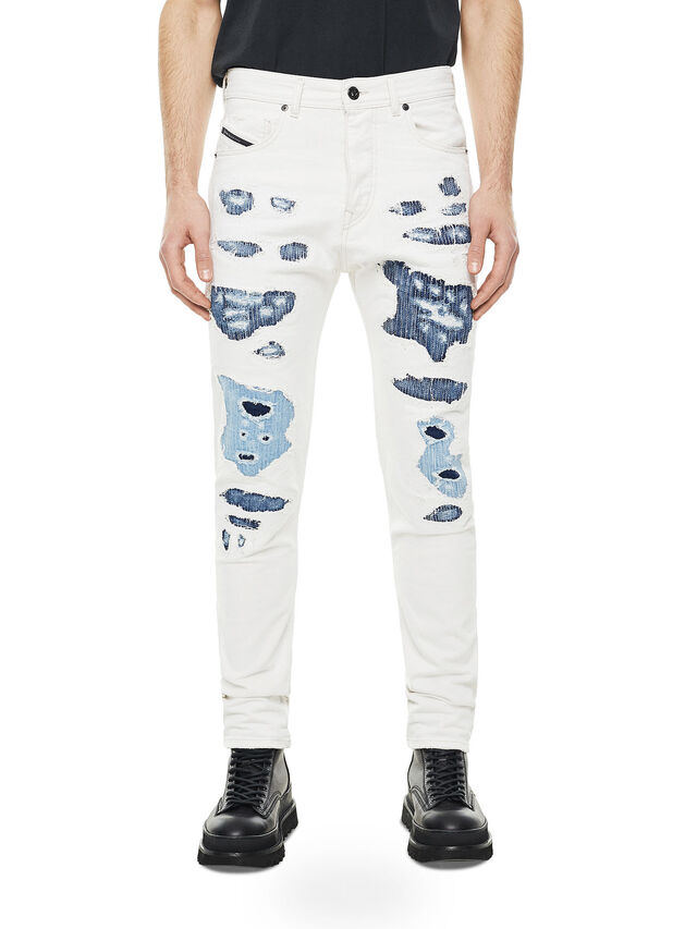 Diesel - TYPE-2880, White/Blue - Jeans - Image 1