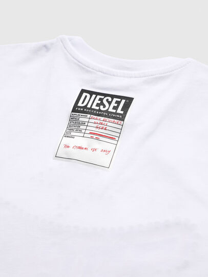 Diesel - TNICOLE, White - T-shirts and Tops - Image 4