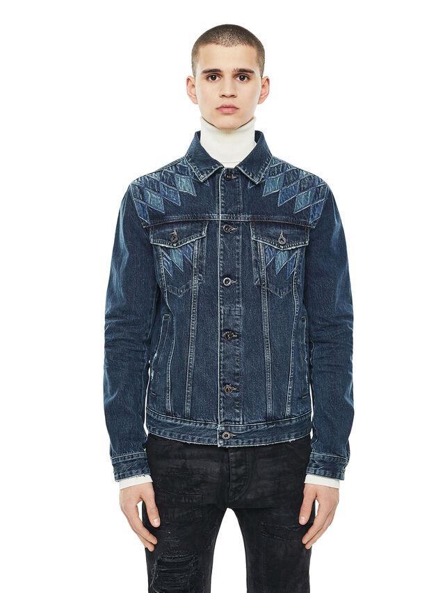 Diesel - JONDER, Blue Jeans - Jackets - Image 1