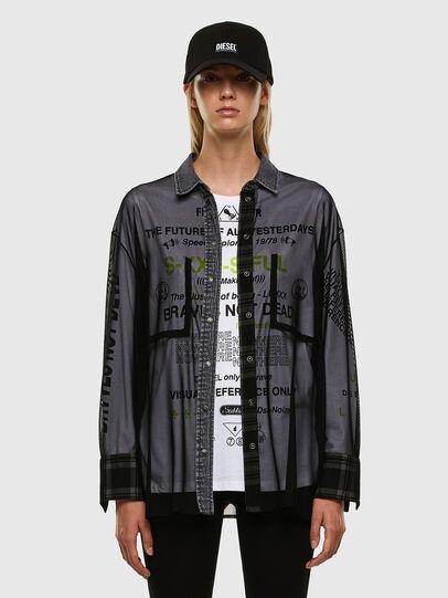 Diesel - C-TULLA, Black - Shirts - Image 5