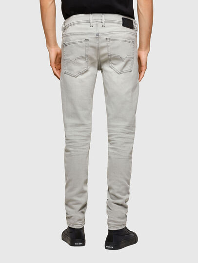 Diesel - Sleenker 009PY, Light Grey - Jeans - Image 2