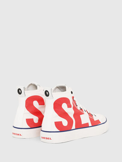 Diesel - S-ASTICO MC, White/Red - Sneakers - Image 3