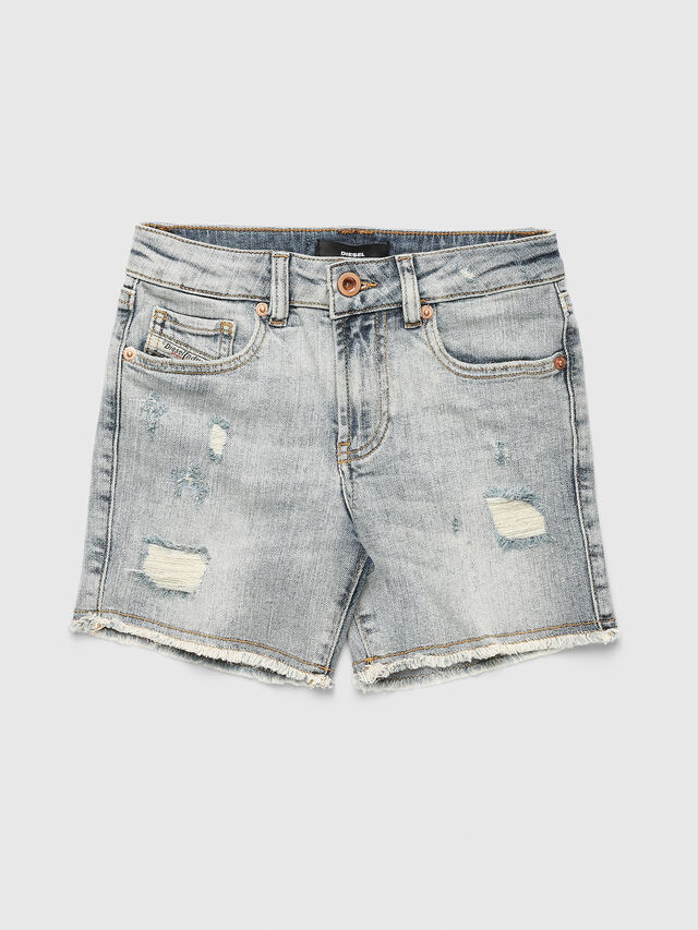 Diesel - PTELVE, Light Blue - Shorts - Image 1