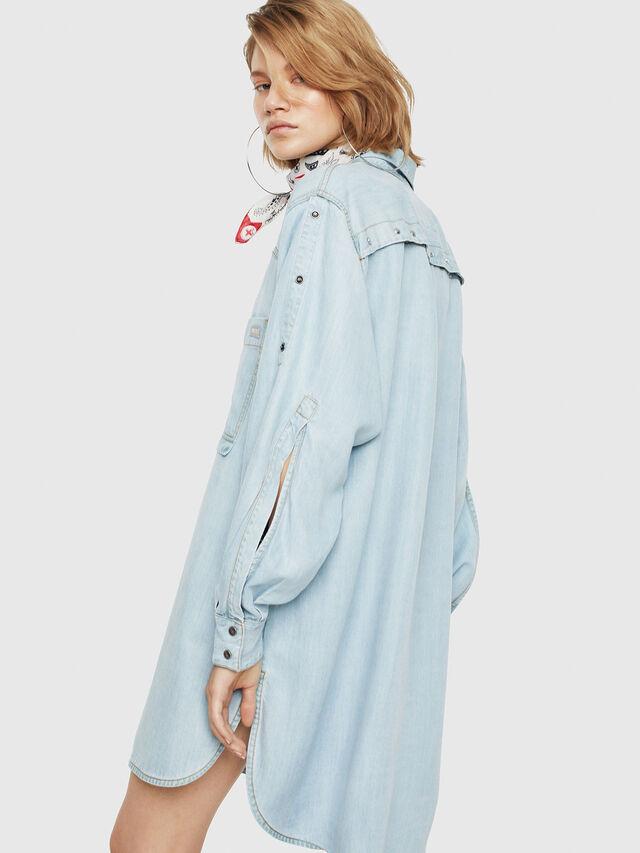 Diesel - DE-SUP, Blue Jeans - Dresses - Image 2
