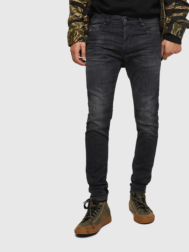 Tepphar 082AS, Black/Dark grey - Jeans