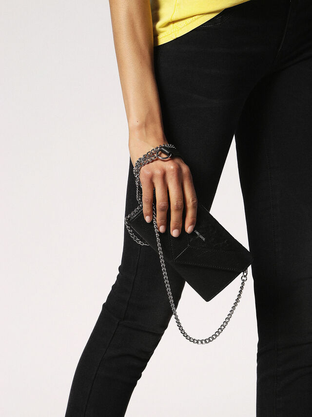 Diesel - GIPSI, Black - Small Wallets - Image 5