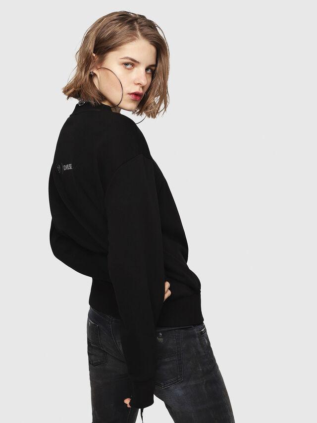 Diesel - CL-SNOR, Black - Sweaters - Image 4