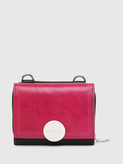 Diesel - LORY, Pink/Black - Small Wallets - Image 1