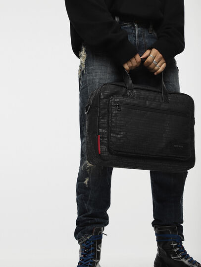 Diesel - F-DISCOVER BRIEFCASE,  - Briefcases - Image 4