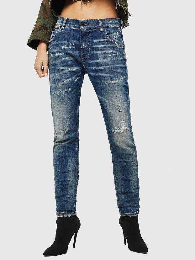 Krailey JoggJeans 0870Q, Medium blue - Jeans