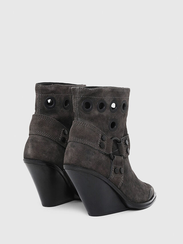 Diesel - D-WEST MBE, Black - Ankle Boots - Image 3