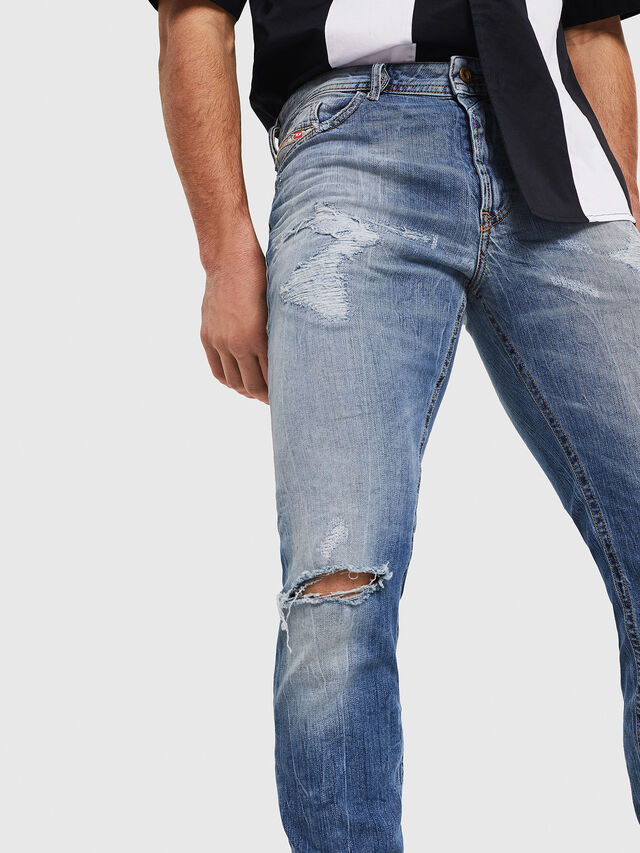 Diesel - Thommer 0090M, Light Blue - Jeans - Image 4