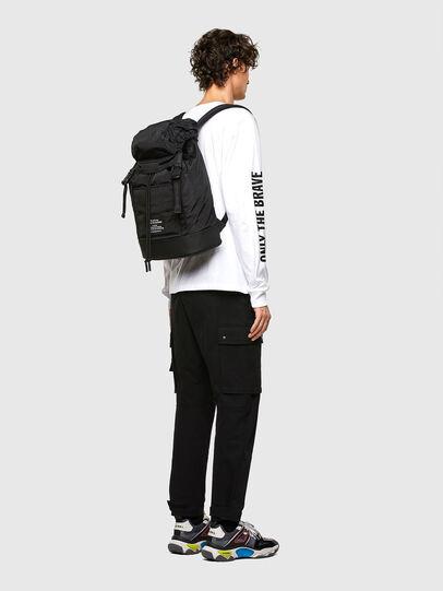 Diesel - F-SUSE BACKPCK, Black - Backpacks - Image 6