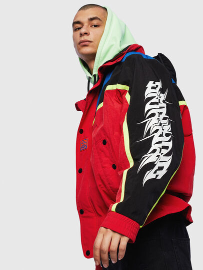 Diesel - J-BENDER, Red - Jackets - Image 4
