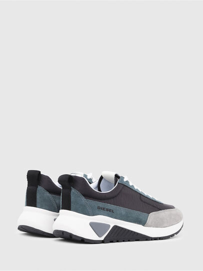 Diesel - S-KB LOW LACE, Grey/Blue - Sneakers - Image 3