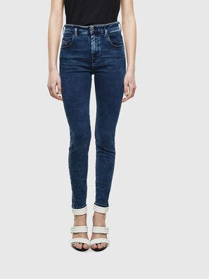 Slandy High 0094Z, Dark Blue - Jeans