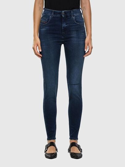 Diesel - Slandy High 009LR, Medium blue - Jeans - Image 1