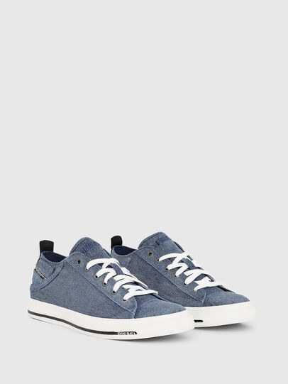 Diesel - EXPOSURE LOW I, Blue Jeans - Sneakers - Image 2