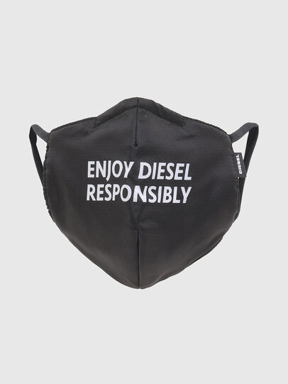 Diesel - FACEMASK-ENJOY, Black - Other Accessories - Image 1