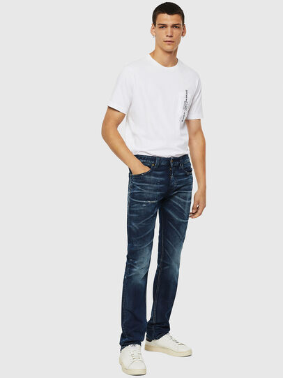 Diesel - Safado 084AM, Dark Blue - Jeans - Image 5
