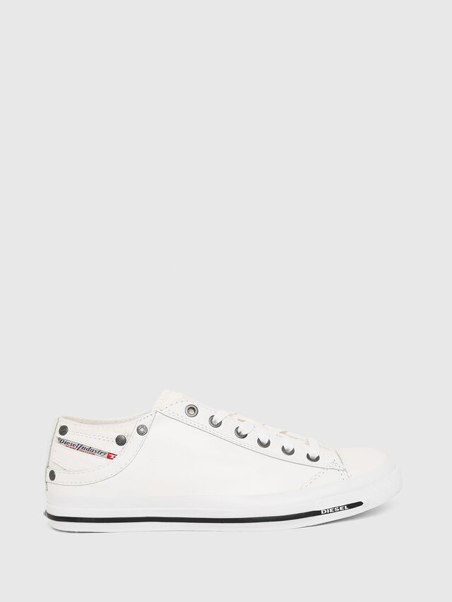 EXPOSURE IV LOW W Women  Leather and canvas sneakers  41a269f8f79