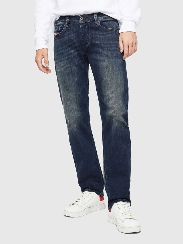 Diesel Waykee 0814W, Dark Blue - Jeans - Image 1